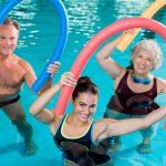 clases natación tercera edad